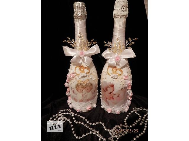 продам Изготовлю свадебные бутылки  бу в Херсоне