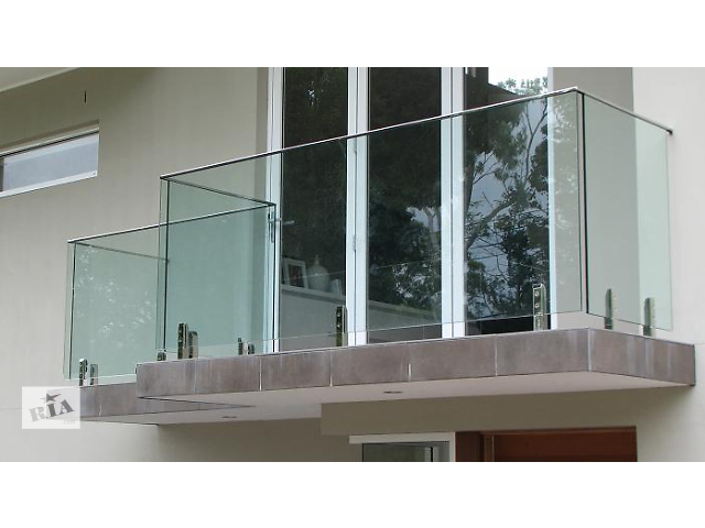 продам Изготовим, установим безрамные конструкции из закаленного стекла бу в Одессе