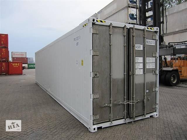 бу Продается Изотермический термоизолированный контейнер 40 футов High Cube б/у рефконтейнер в Одессе