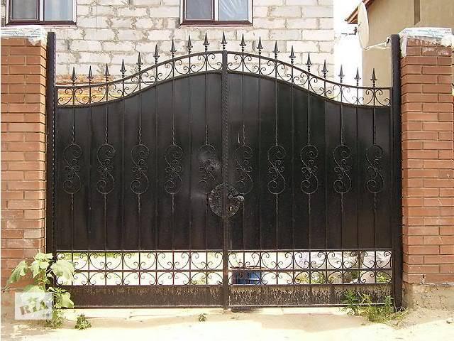 бу заборы, ворота, калитки, беседки, перила установка доставка в Коростене (Житомирской обл.)