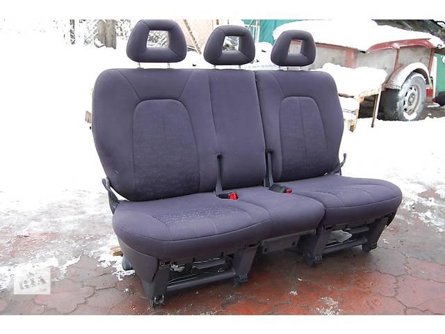 купить бу Заднее тройное сидение трансформер 2 + 1 Fiat Doblo в Любомле