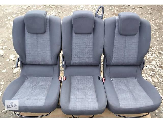 продам Задние сиденья для Renault Scenic (с каркасом) бу в Ивано-Франковске