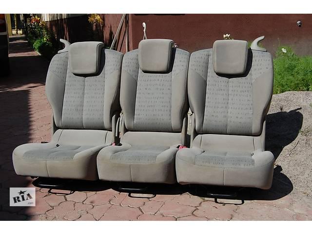 купить бу  Задние сидения трансформеры комплект из 3 штук Volkswagen Caddy в Любомле