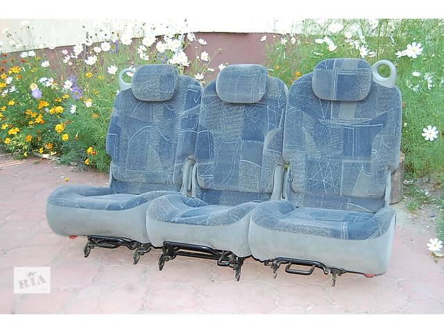продам Задние сидения трансформеры от Renault Scenic бу в Любомле
