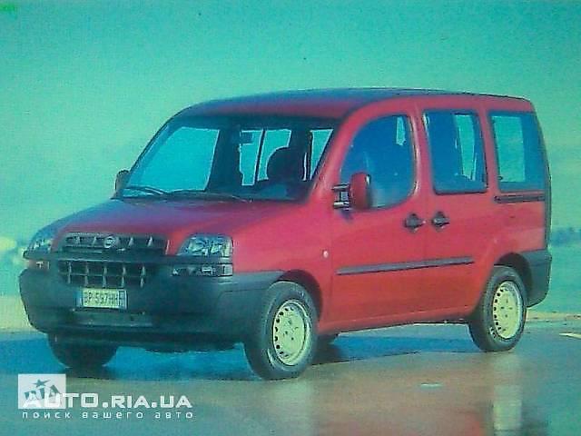 бу Задняя балка  для Fiat Doblo пасс. в Черновцах