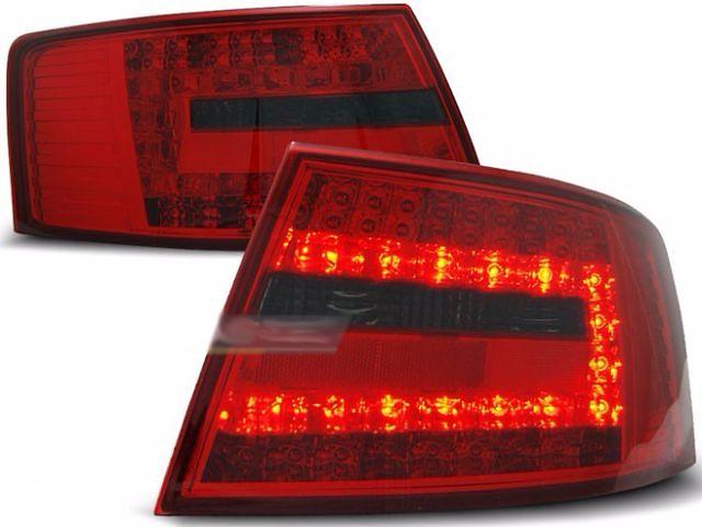 купить бу Задние диодные тюнинг фонари Audi A6 C6 (LDAU74) Ауди А6 С6 в Луцке