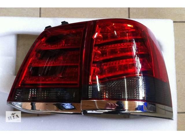 Задние фонари диодные, (дымчатые) Toyota Land Cruiser 200 (Стиль Lexus LX570)- объявление о продаже  в Луцке