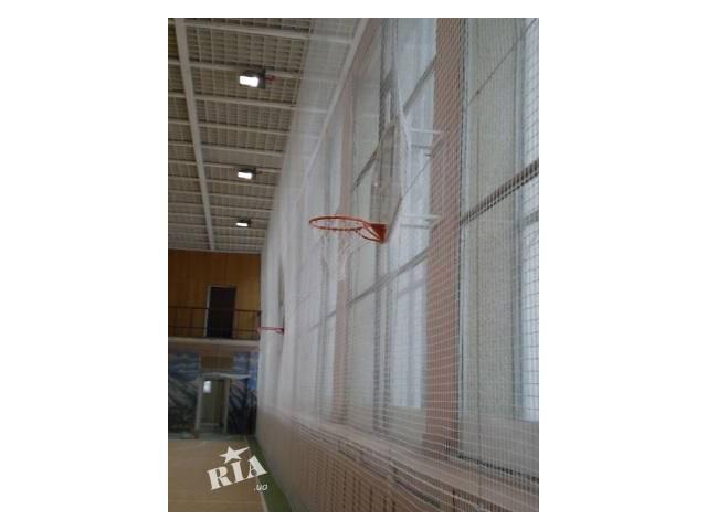Заградительные сетки белые и цветные для спортзала- объявление о продаже  в Киеве