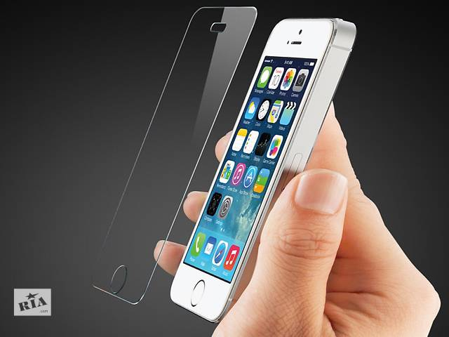 бу Захисне скло на (для) айфон . Защитное стекло для (на) iPhone (Айфон)5/5c/5s/5se/6/6s в Львове