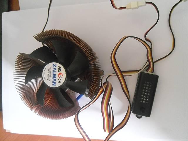 Zalman quiet cpu cooler 2 ball bearing.- объявление о продаже  в Нежине