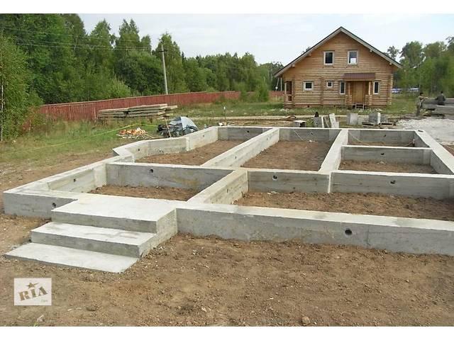 Заливка фундамента, кладка газоблока, кирпича, керамоблока.- объявление о продаже  в Винницкой области