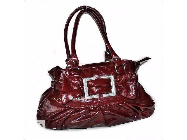 бу Замечательная сумка в модном цвете марсала доставка в подарок в Кривом Роге