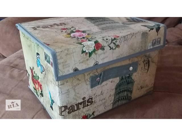 Замечательные корзины, ящики, органайзеры для игрушек и мелочей- объявление о продаже  в Днепре (Днепропетровске)