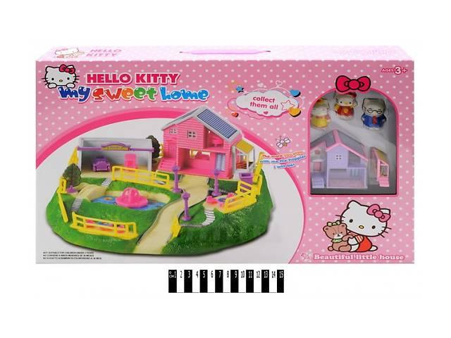 продам Замок SS012A Hello Kitty домик, 3 фигурки бу в Ровно