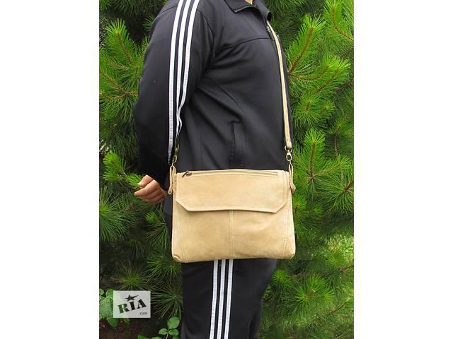 продам Замшевая мужская сумка  бу в Днепре (Днепропетровске)