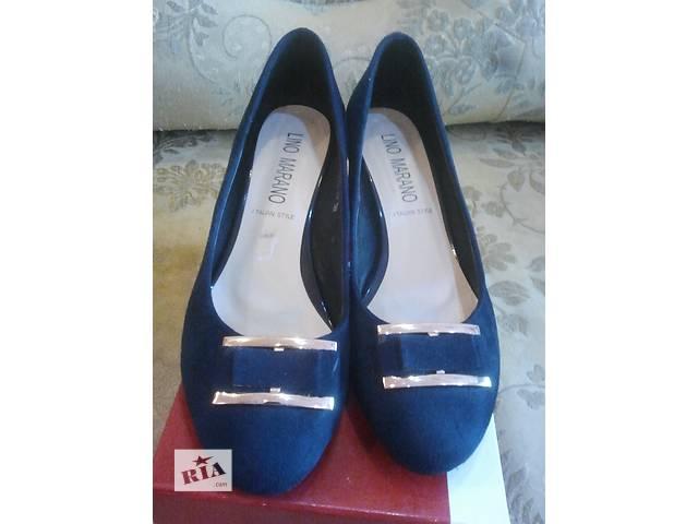 купить бу Замшевые стильные туфли в Мукачево