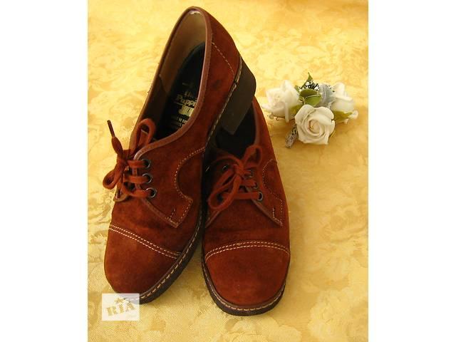 продам Замшевые туфли 36 размер бу в Сумах