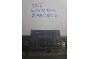 б/у Автомагнитолы Nissan Note