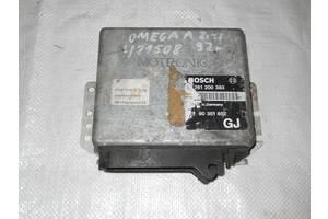 б/у Блоки управления двигателем Opel Omega A