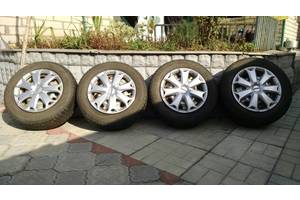 б/у диски с шинами Opel Vectra B