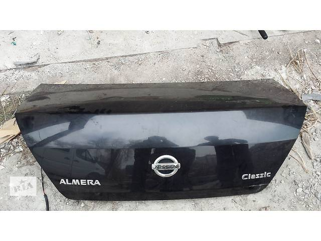крышка багажника б/у nissan almera classic