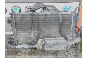 б/у Радиатор интеркуллера Opel Corsa