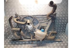 б/у Радиатор интеркуллера Peugeot Bipper груз.