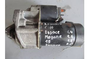 б/у Стартеры/бендиксы/щетки Renault Espace