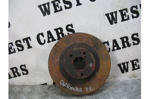 б/у Тормозной диск Mitsubishi Outlander