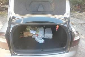 б/у Уплотнитель крышки багажника Audi A4