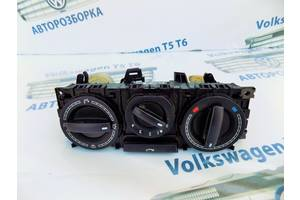 б/у Блоки управления печкой/климатконтролем Volkswagen T5 (Transporter)
