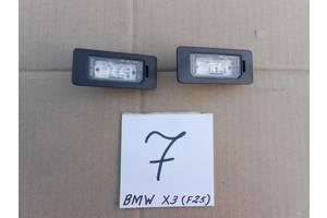 б/у Фонарь подсветки номера BMW X3