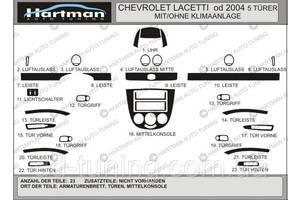 Торпедо/накладка Chevrolet Lacetti Hatchback