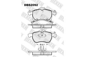 Новые Тормозные колодки комплекты Opel