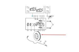 Новые Тормозные диски Jeep Grand Cherokee