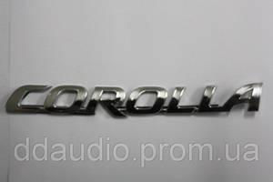 Эмблема Toyota Corolla