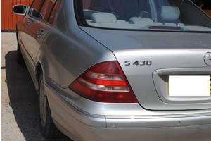 б/в ліхтарі задні Mercedes S 430