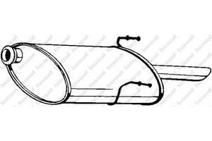 Глушитель Peugeot 406