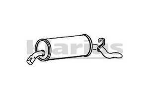 Глушитель Opel Omega A