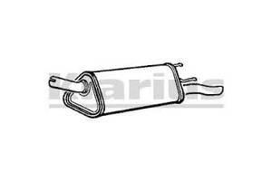 Глушитель Opel Corsa