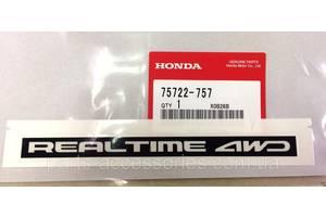 Новые Эмблемы Honda CR-V