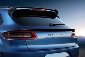 Новые Спойлеры Porsche Macan