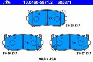 Тормозные колодки комплект Kia