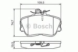 Гальмівні колодки комплекти Mercedes C-Class