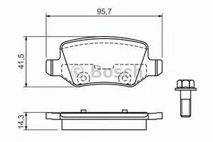 Тормозные колодки комплект Mercedes