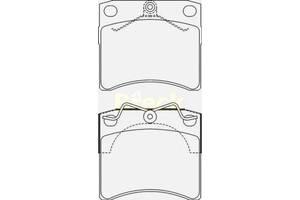 Тормозные колодки комплект Volkswagen