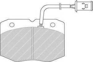 Тормозные колодки комплект Iveco