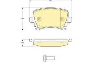 Тормозные колодки комплект Seat Leon ST