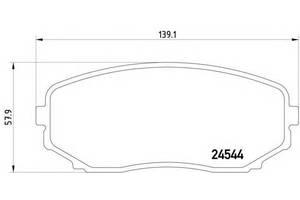 Тормозные колодки комплект Mazda CX-9