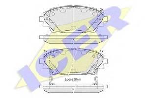 Тормозные колодки комплект Mazda 3
